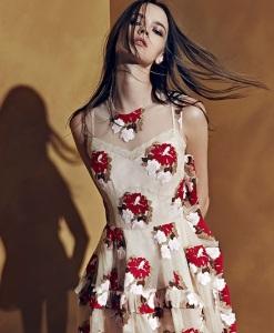 Simone-Rocha-Floral-Tulle-Ruffle-Dress-